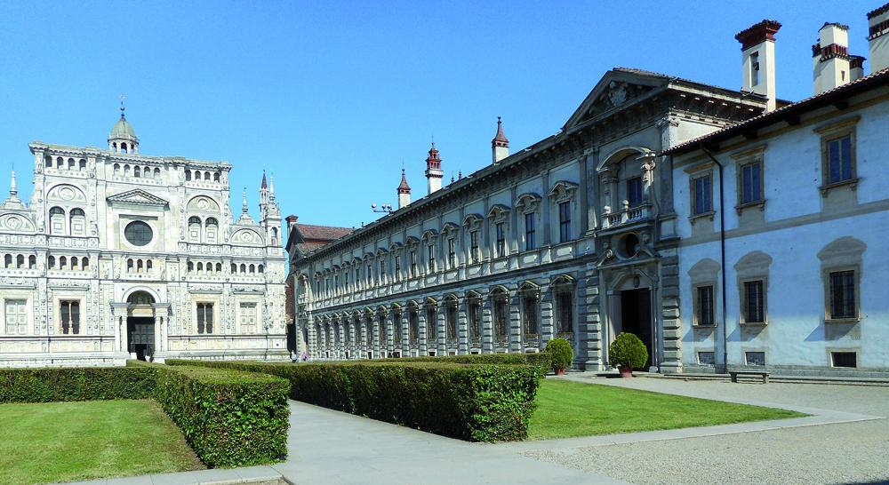 Certosa di Pavia - L'edificio