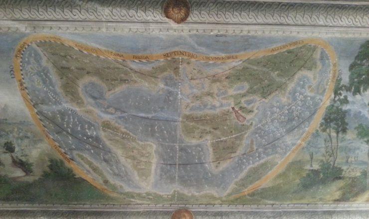 Sala della Creazione – Il Planisfero