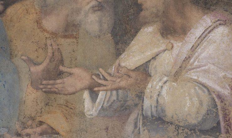 Dettaglio degli Apostoli Taddeo e Simone