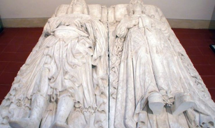 Plaster cast from the sculptural original: Funerary monument of Ludovico il Moro and Beatrice d'Este
