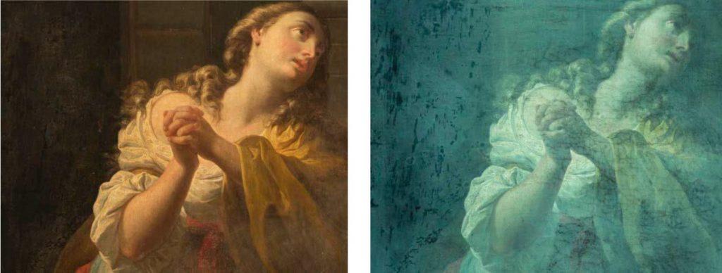 Studio e restauro di due pale d'altare della Chiesa della Certosa di Pavia